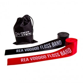 REA VOODOO FLOSS BAND RED 12-2-033 / BLACK 12-2-032