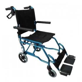 Αναπηρικό αμαξίδιο μεταφοράς αλουμινίου με τσάντα 0808377