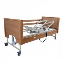 Νοσοκομειακό κρεβάτι ηλεκτρικό πολύσπαστο PRISMA 4 με μεταλλικό σομιέ