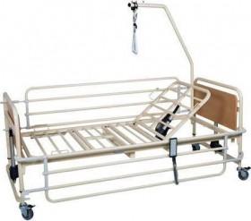 Νοσοκομειακό ηλεκτροκίνητο κρεβάτι μεταβλητού ύψους με ρόδες – Μονόσπαστο – PRATO 3