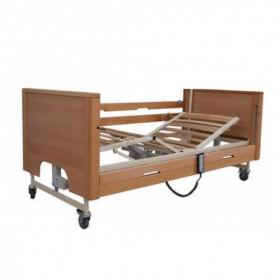 Νοσοκομειακό ηλεκτρικό κρεβάτι Prisma 4 με ξύλινο σομιέ