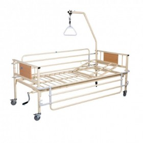 Νοσοκομειακό κρεβάτι Μονόσπαστο με μία μανιβέλα KN200.10F econ