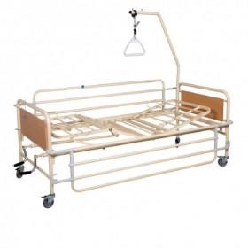 Νοσοκομειακό κρεβάτι με δύο μανιβέλες Πολύσπαστο KN200.3F econ