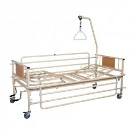 Νοσοκομειακό κρεβάτι πολύσπαστο με δύο μανιβέλες KN200.10/1 econ
