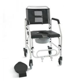 Καρέκλα Τροχήλατη Αδιάβροχη Με WC 09-2-165
