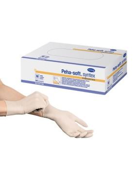 Peha-soft® syntex γάντια μίας χρήσης χώρις λάτεξ, χωρίς πούδρα, συσκευασία 100 τεμαχίων