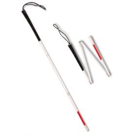 Μπαστούνι σπαστό ρυθμιζόμενο για τυφλούς (120cm)
