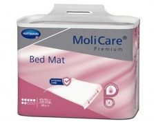 MoliCare® Premium Bed Mat υποσέντονα μίας χρήσης 7 σταγόνων 60 x 90 cm με πτερύγια συγκράτησης συσκευασία 30 τεμαχιών