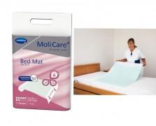 MoliCare®Premium BedMat Τextile Υποσέντονο πολλαπλών χρήσεων 7 σταγόνων με πτερύγια συγκράτησης (75x185cm) συσκευασία 1 τεμαχίου